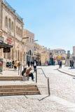 Alte Stadt in Jerusalem Stockfotos