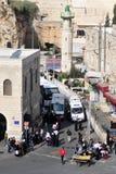 Alte Stadt Jerusalems Stockfotografie