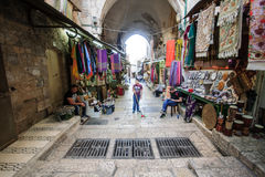 Alte Stadt Jerusalems Lizenzfreie Stockfotografie
