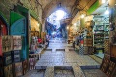 Alte Stadt Jerusalems Stockfotos