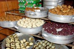 Alte Stadt Jie-Zi, Chinsa: Donggao-Mehlklöße Stockfoto