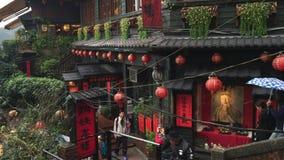 Alte Stadt Jiufen in Taipeh, Taiwan stock video