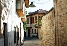 Alte Stadt Kaleici in Antalya, die Türkei Stockbilder