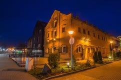 Alte Stadt in Klaipeda (Litauen) Lizenzfreie Stockfotos
