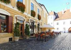 Alte Stadt Klausenburg Napoca lizenzfreies stockbild