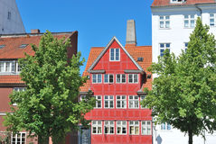 Alte Stadt Kopenhagens Stockbild