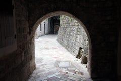 Alte Stadt Kotor in Montenegro Stockfotografie