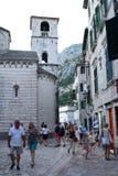 Alte Stadt Kotor montenegro Lizenzfreies Stockbild