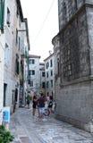 Alte Stadt Kotor montenegro Stockfoto