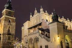 Alte Stadt Krakaus in Polen Lizenzfreies Stockbild