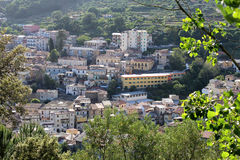 Alte Stadt, Lamezia Terme, Süd-Italien Lizenzfreies Stockbild