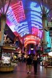 Alte Stadt Las Vegas, Nanovolt Stockbild