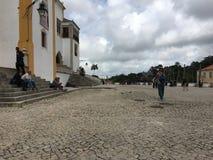 Alte Stadt Lissabons Stockfoto
