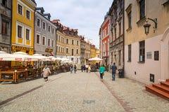 Alte Stadt Lublins in Polen lizenzfreies stockbild