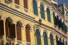 Alte Stadt, Macau Stockfotos