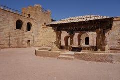 Alte Stadt in Marokko, typische marokkanische Architektur Stockfotografie