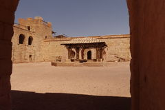 Alte Stadt in Marokko, typische marokkanische Architektur Lizenzfreies Stockfoto