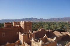 Alte Stadt in Marokko, typische marokkanische Architektur Stockfoto