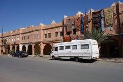 Alte Stadt in Marokko, typische marokkanische Architektur Lizenzfreie Stockfotografie