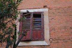 Alte Stadt in Marokko, typische marokkanische Architektur Lizenzfreie Stockbilder