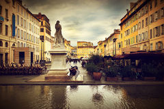 Alte Stadt in Marseille, Frankreich. Stockfoto