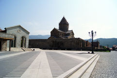 Alte Stadt Mtskheta Stockfotografie