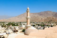 Alte Stadt Omans Stockfoto
