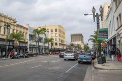 Alte Stadt Pasadena stockbilder