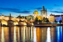 Alte Stadt in Prag, Tschechische Republik Stockbilder