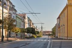Alte Stadt in Presov, Slowakei Lizenzfreies Stockfoto