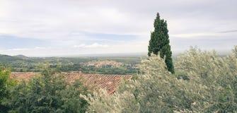 Alte Stadt in Provence Lizenzfreie Stockbilder