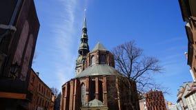 Alte Stadt, Riga Stockfoto