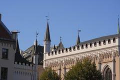 Alte Stadt, Riga, Lettland Stockbild