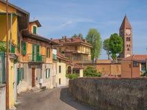Alte Stadt Rivoli Stockbild