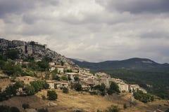 Alte Stadt in Süd-Frankreich Stockbilder