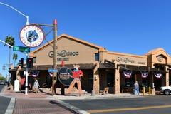 Alte Stadt Scottsdale lizenzfreie stockfotografie