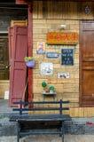 Alte Stadt Shuhe ist eine der ältesten Lebensräume von Lijiang und der gut erhalten Stadt auf dem alten Tee-Weg Lizenzfreies Stockfoto