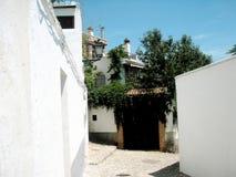 Alte Stadt in Spanien Lizenzfreie Stockbilder
