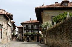 Alte Stadt Spanien Stockfoto