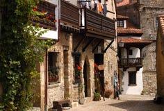 Alte Stadt Spanien Lizenzfreies Stockbild