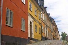 Alte Stadt, Stockholm Stockbild