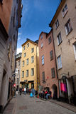 Alte Stadt Stockholm Lizenzfreies Stockfoto