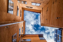 Alte Stadt, Stockholm Stockfoto