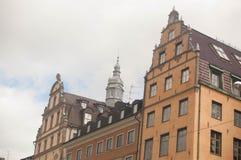 Alte Stadt Stockholm Schweden Stockbild