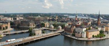Alte Stadt Stockholms in Schweden Stockbilder