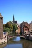 Alte Stadt in Straßburg Stockbild