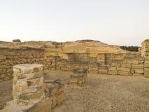 Alte Stadt Sumhuram (Salalah, Oman) Stockfotos