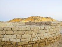 Alte Stadt Sumhuram (Salalah, Oman) Lizenzfreie Stockfotografie