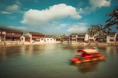 Alte Stadt Suzhous Tongli Lizenzfreies Stockfoto