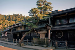 Alte Stadt, Takayama, Japan Lizenzfreie Stockfotos